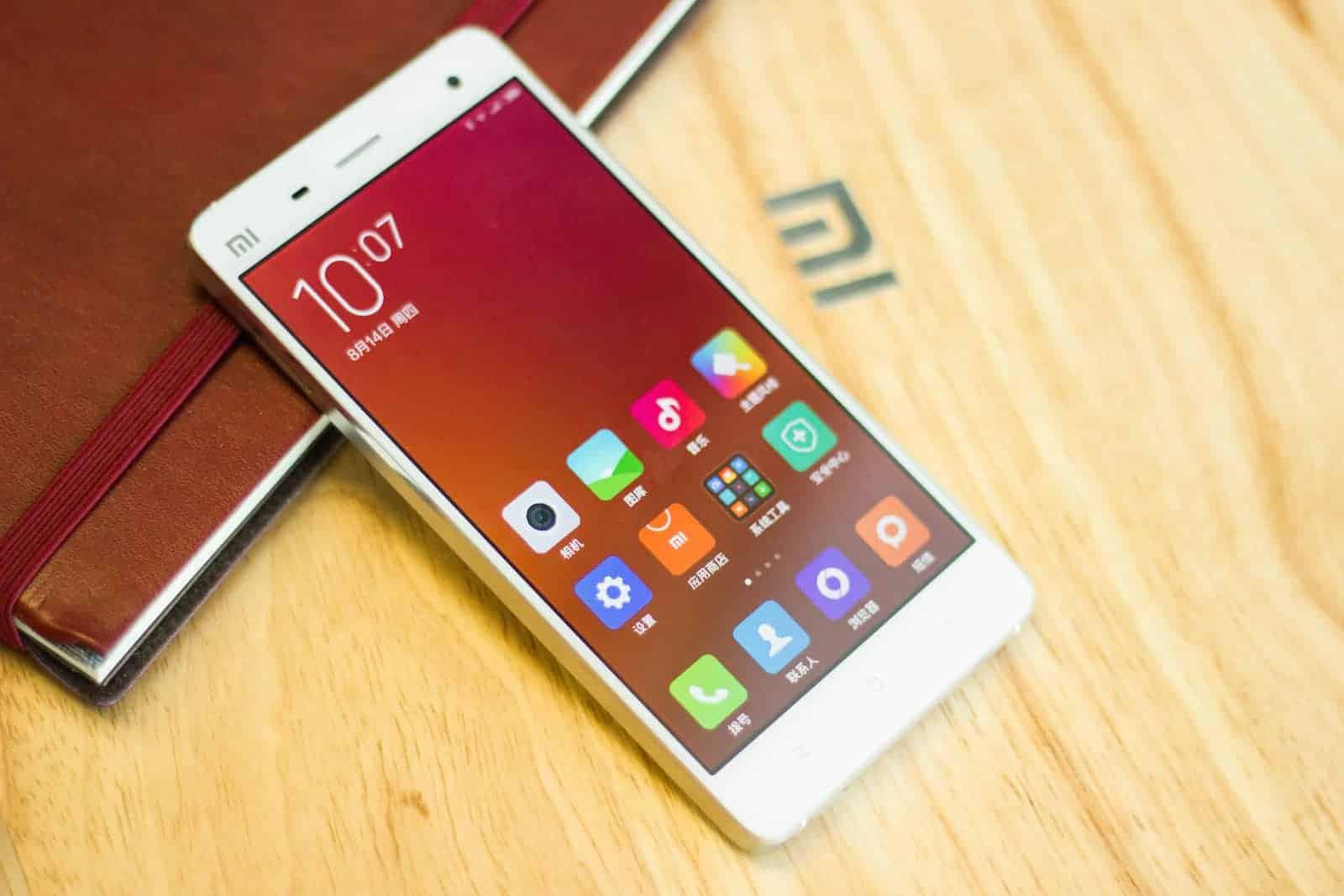 Xiaomi Mi4 with MIUI6_3
