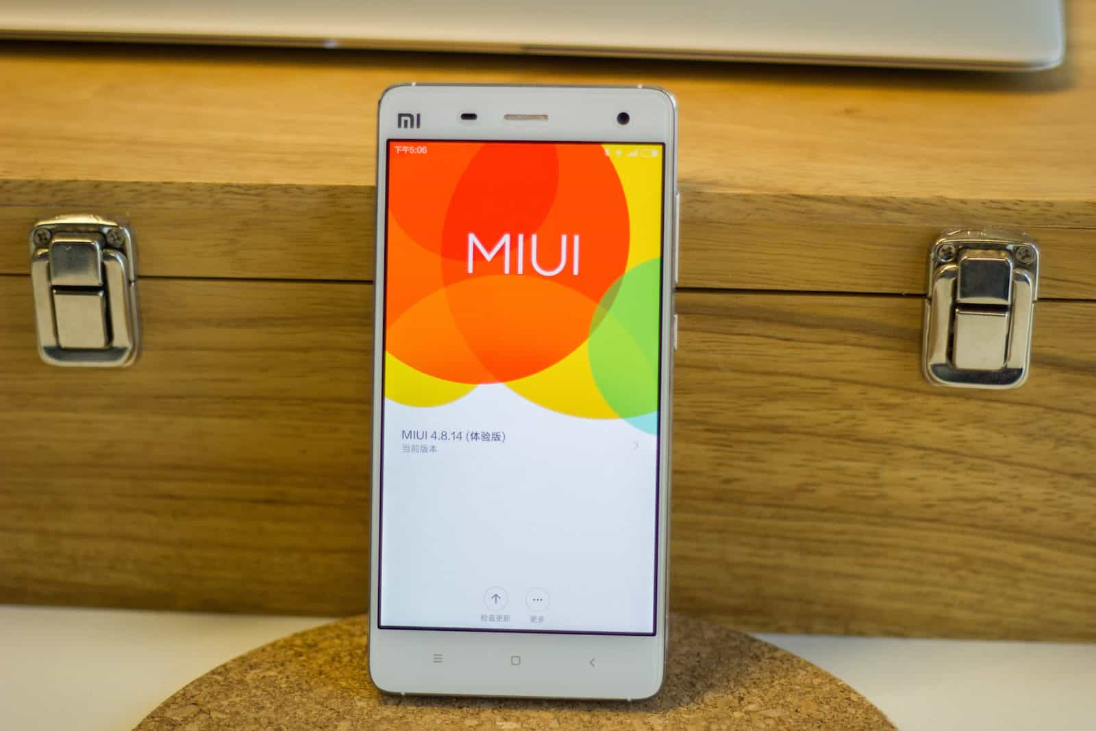 Xiaomi Mi4 with MIUI6_5