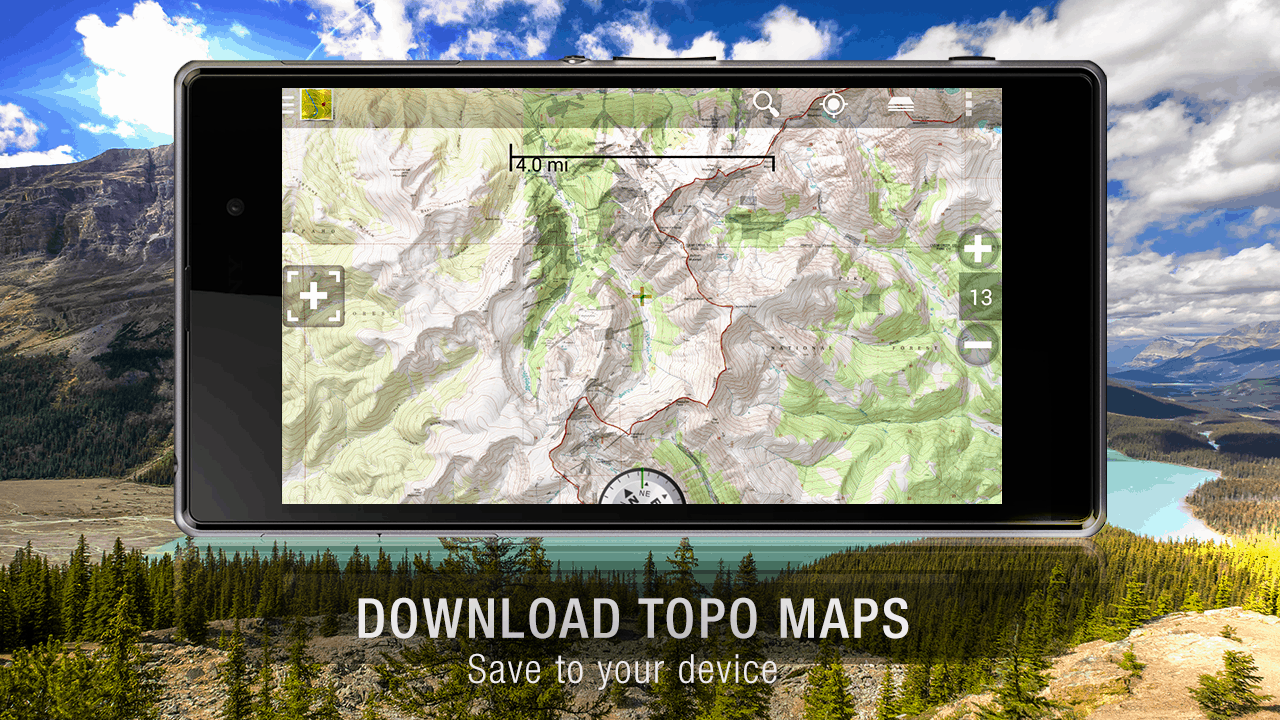 Featured Top  Navigation Apps For Android Androidheadlinescom - Us topo maps app android