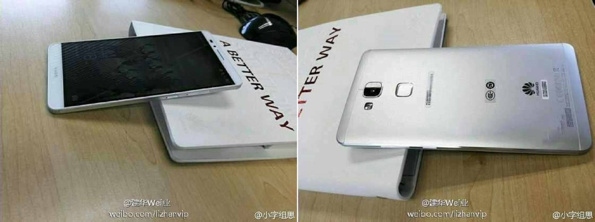 More Huawei Ascend Mate 7 Images leaked prior to IFA launch
