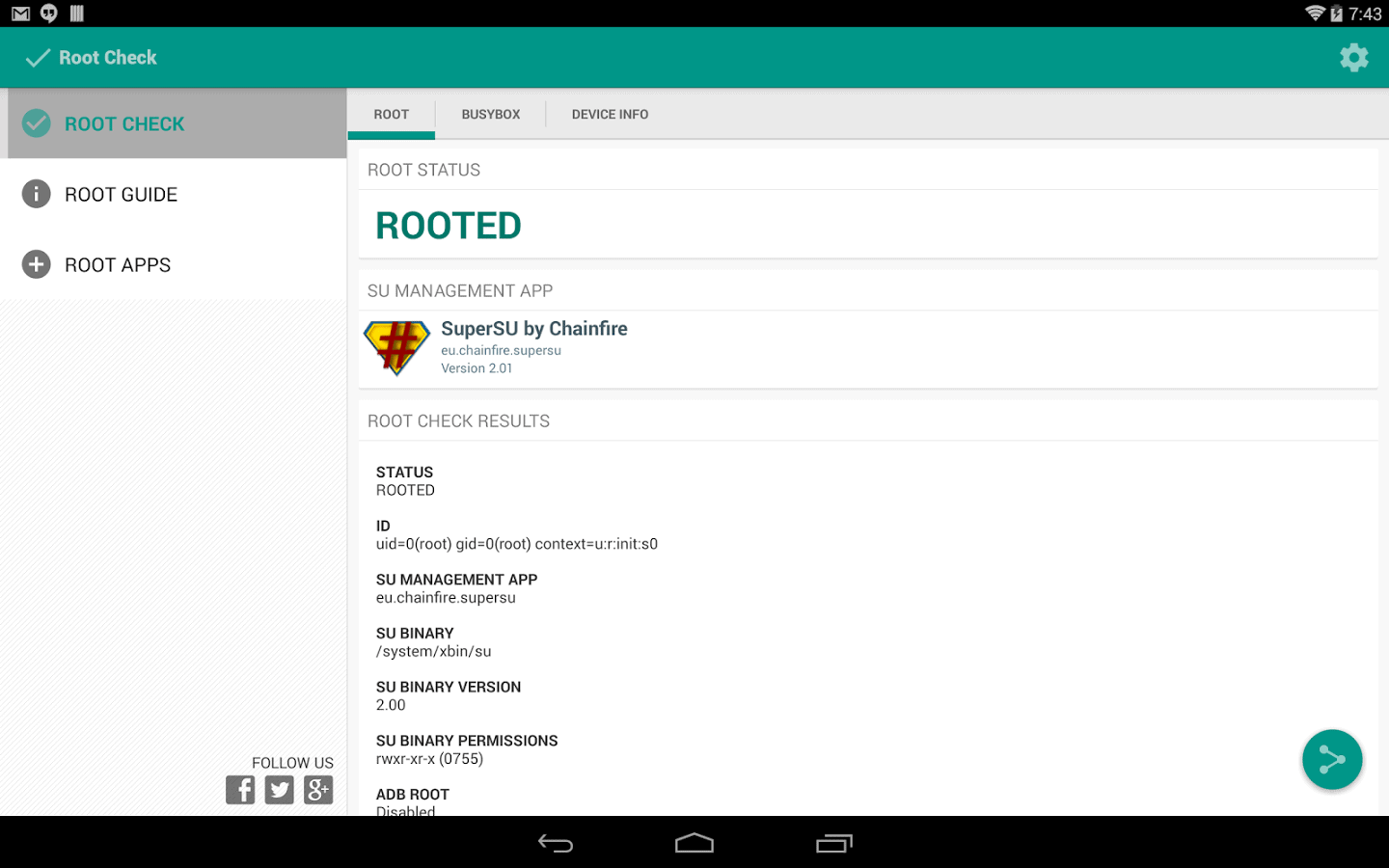 root-checker-material-design