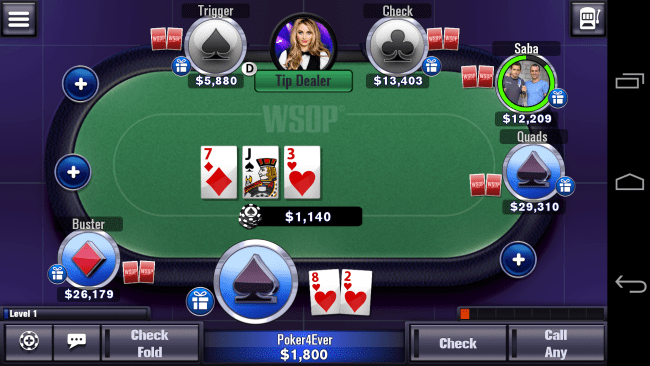 free poker game apps