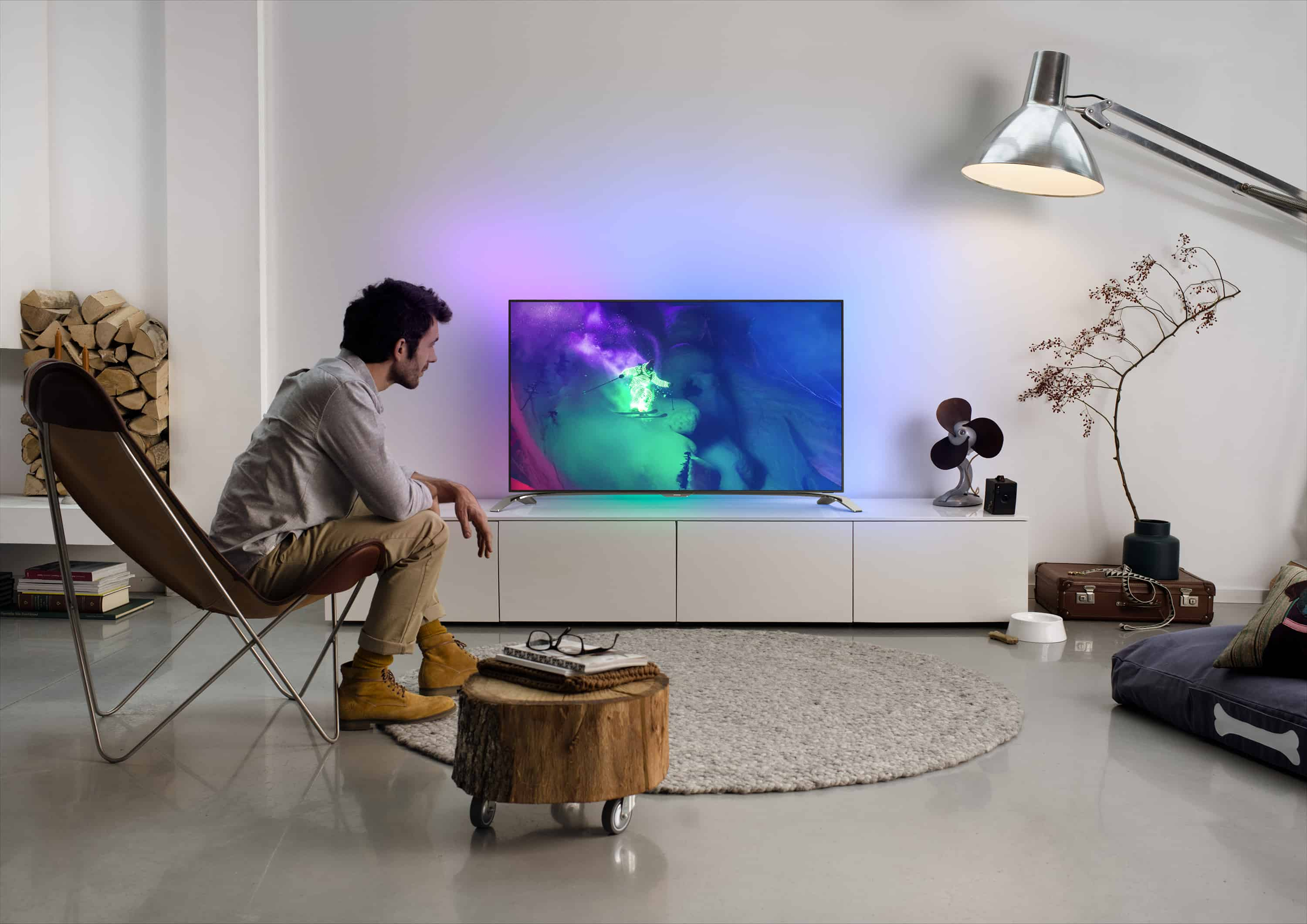 phillips new range k ambilight televisions powered android