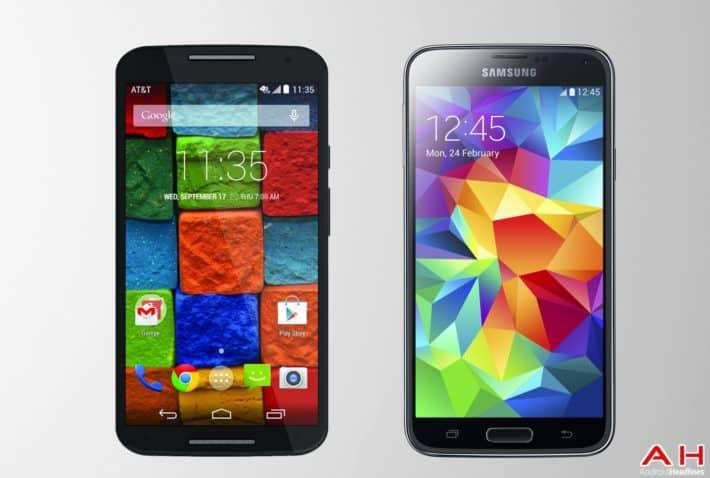 Phone Comparisons: Samsung Galaxy S5 vs Moto X 2014