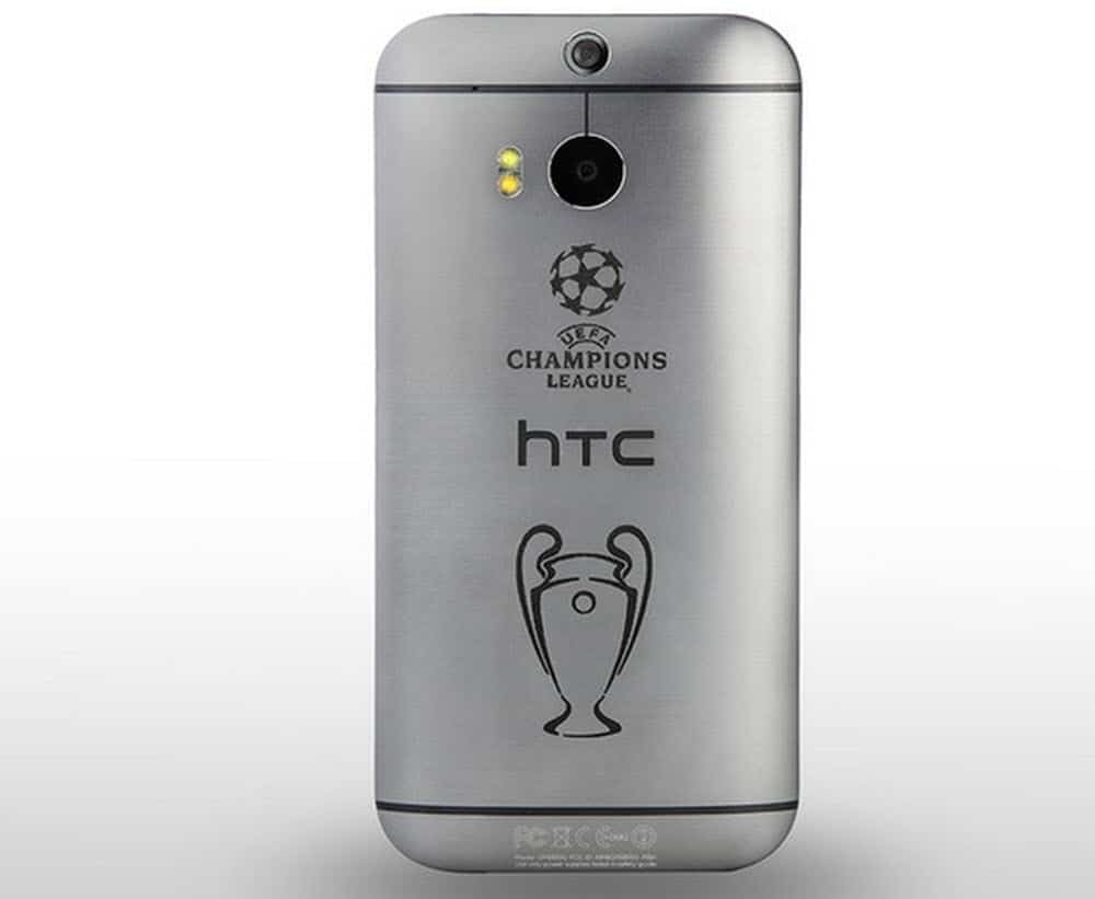 HTC One M8 UK UEFA Engraving