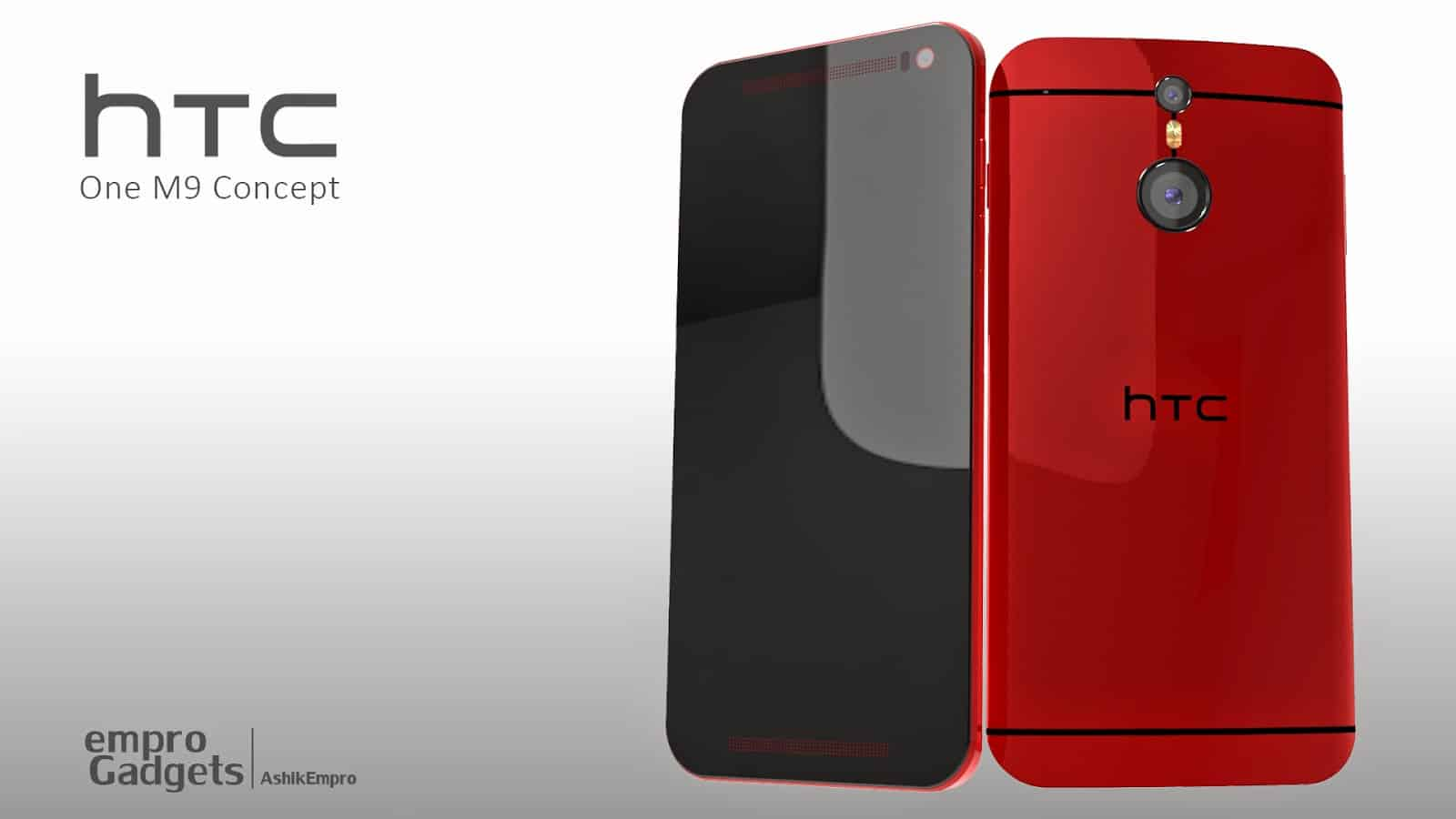 More HTC One (M9) Concept Images Appear