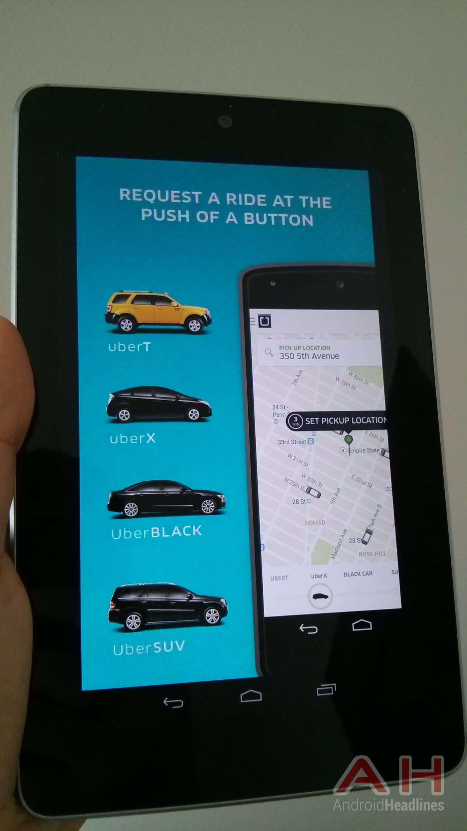 AH Uber app