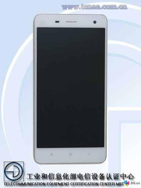 Low-cost Xiaomi Mi4 TENAA_1