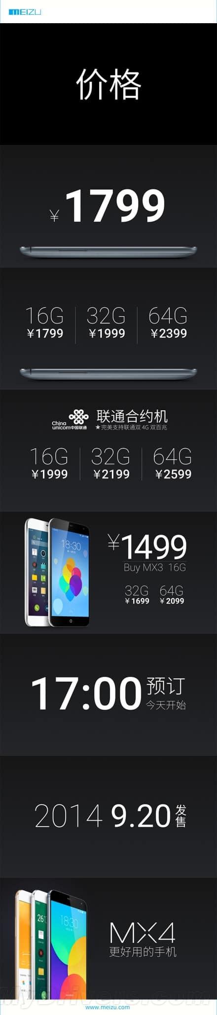 Meizu Mx4 1.10