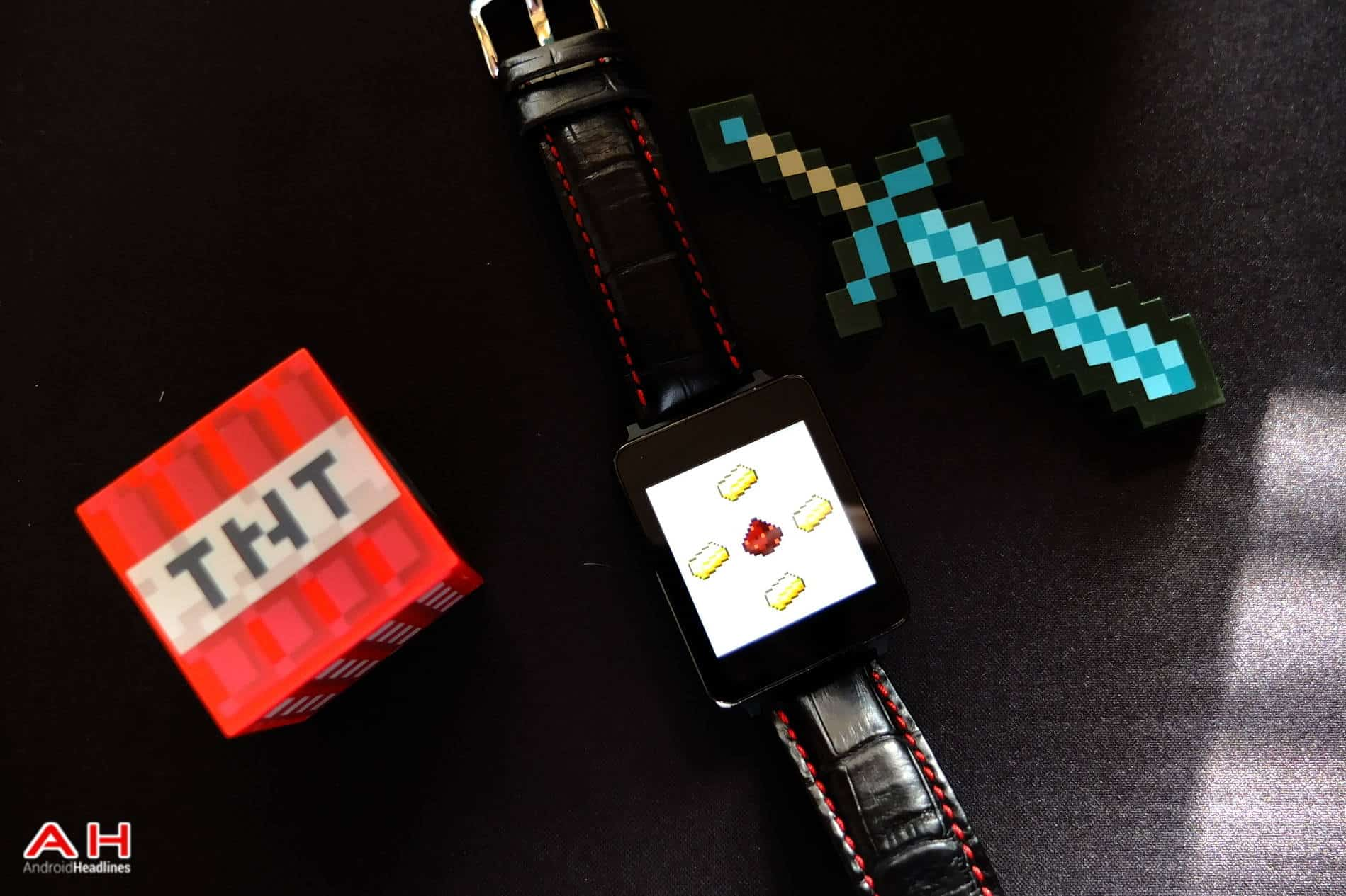 Minecraft Android Wear ah
