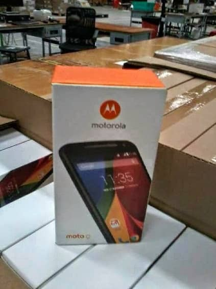 Moto G2 packaging leak (Flipkart)