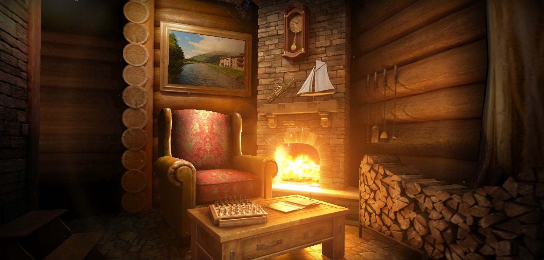 My-Log-Cabin-live-wallpaper