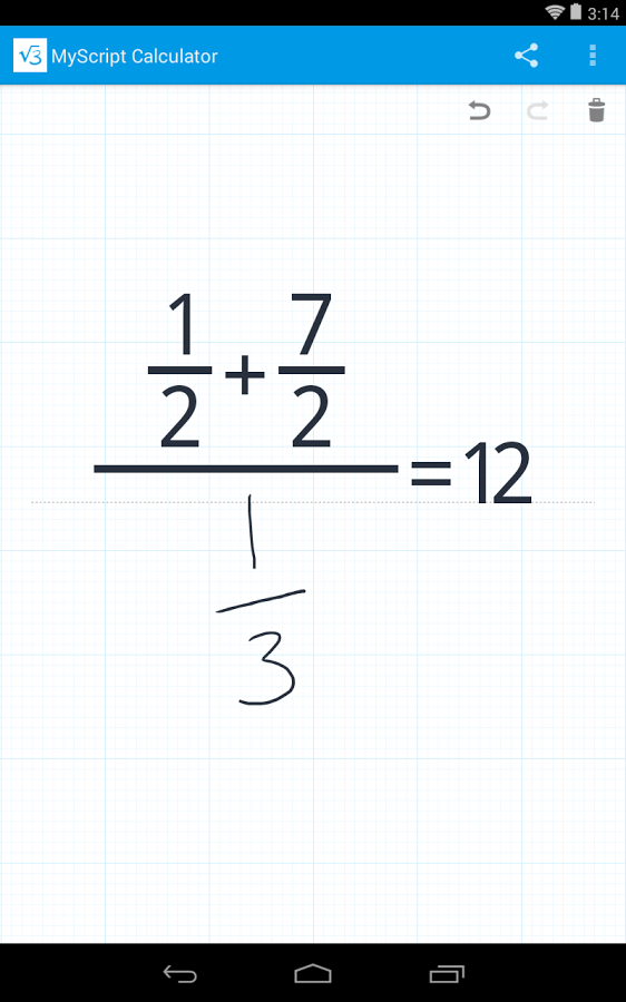 MyScript Calculator_1