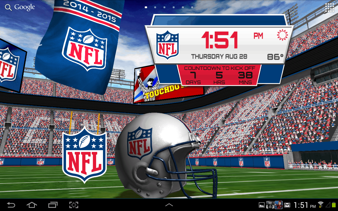 NFL-Live-Wallpaper