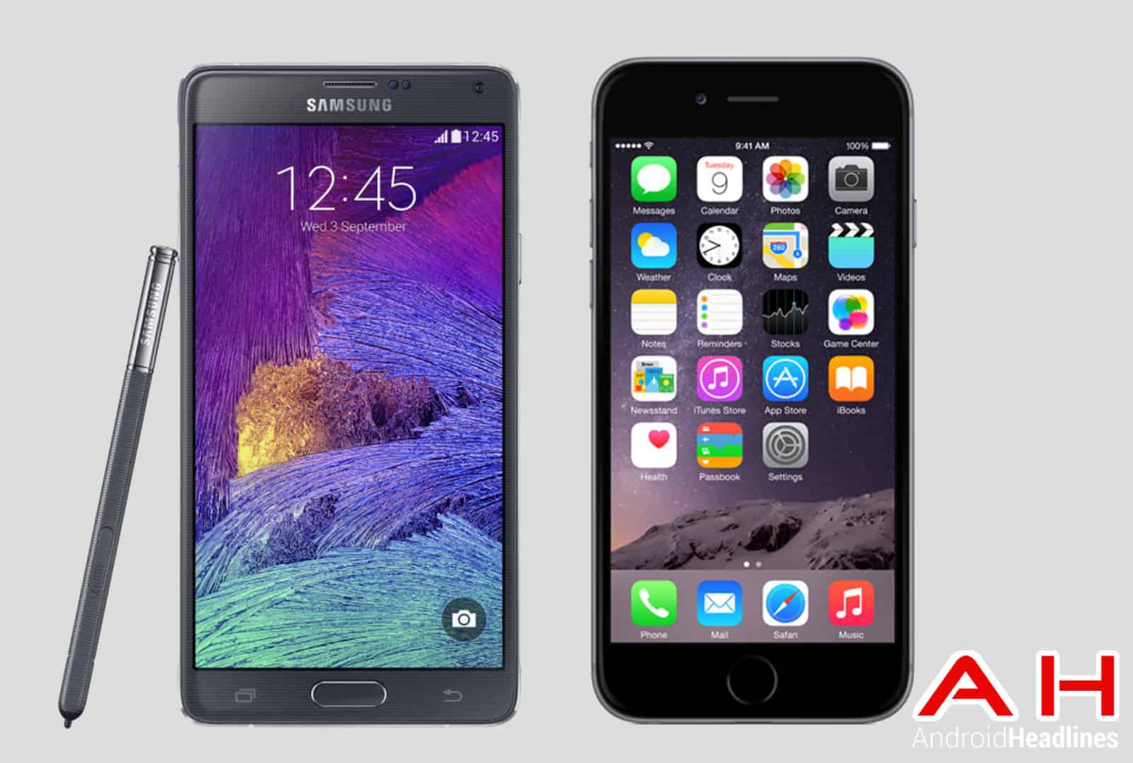 Note 4 vs iPhone 6 Plus AH