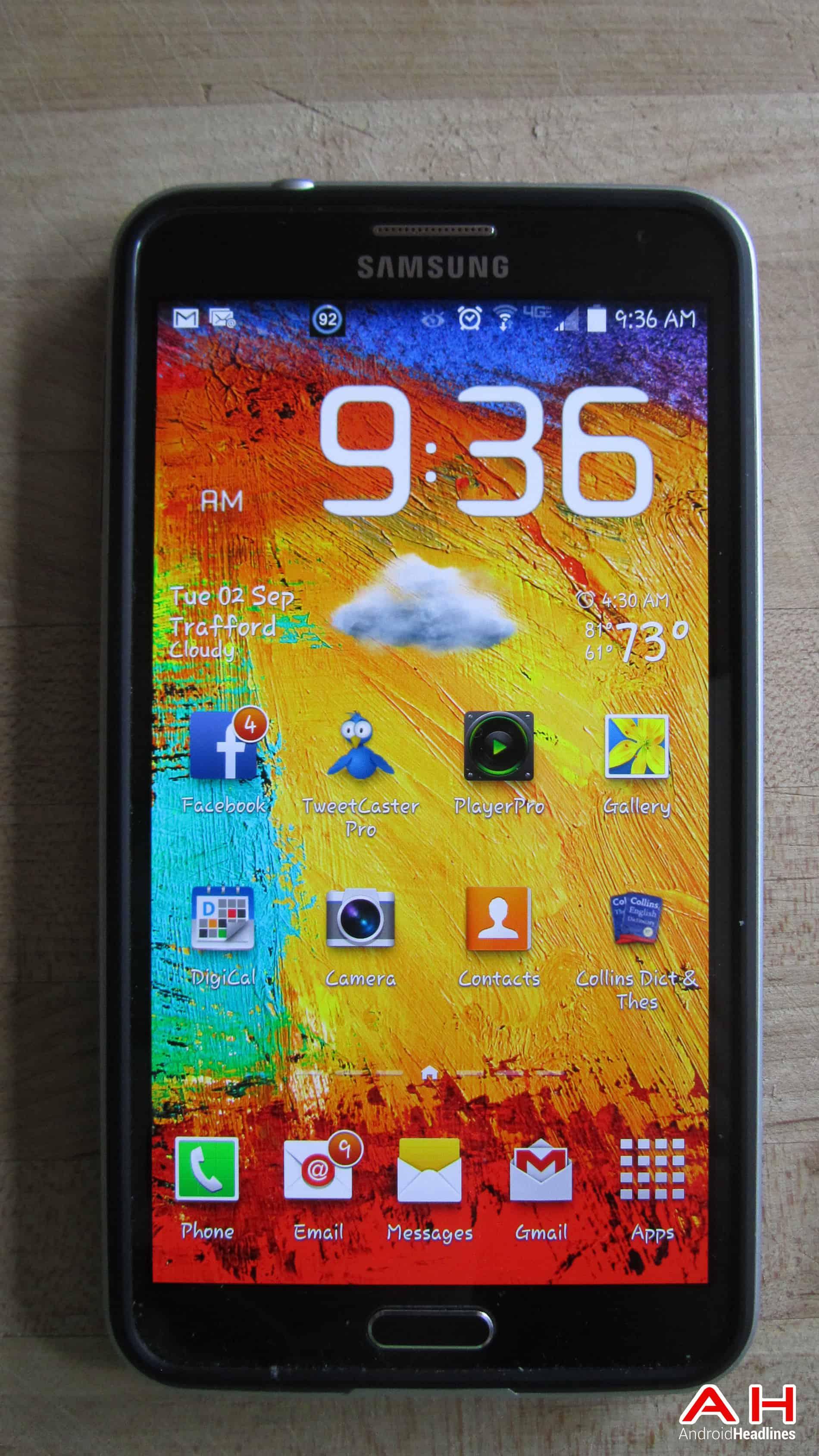 Samsung Galaxy Note 3 Front 3 AH