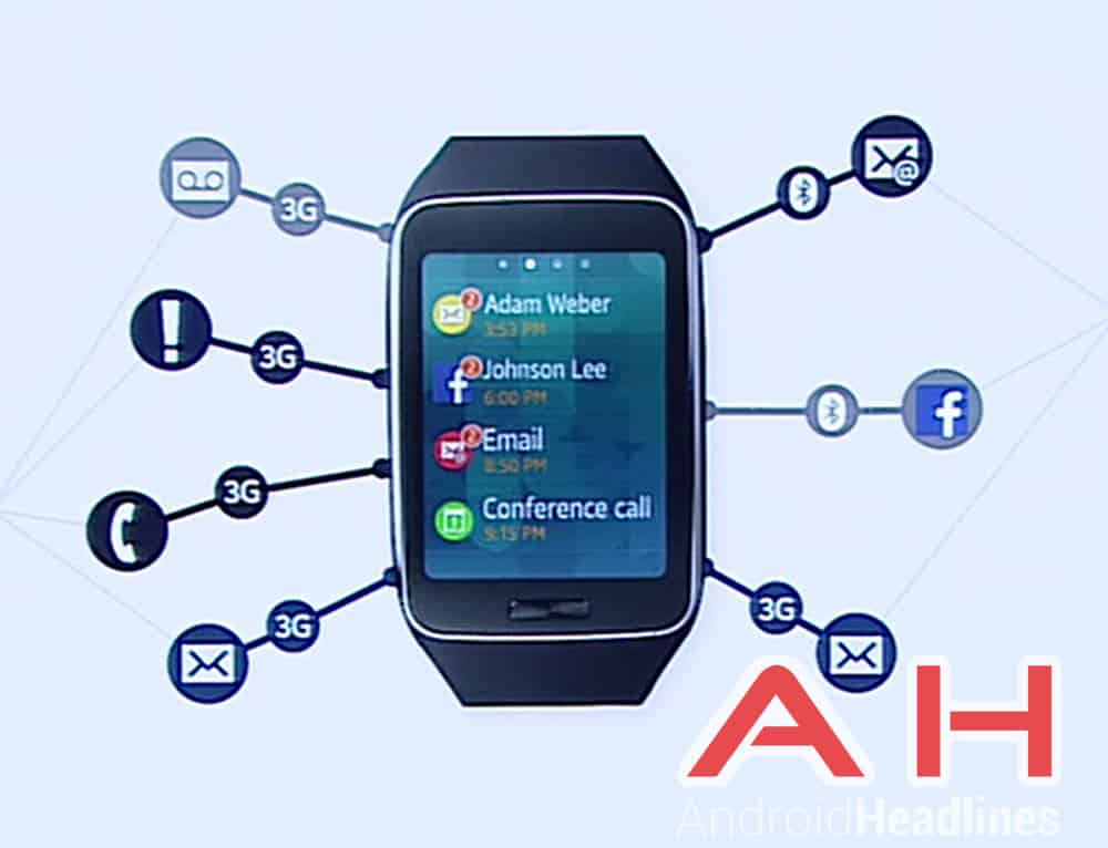 Samsung Gear S Connectivity AH