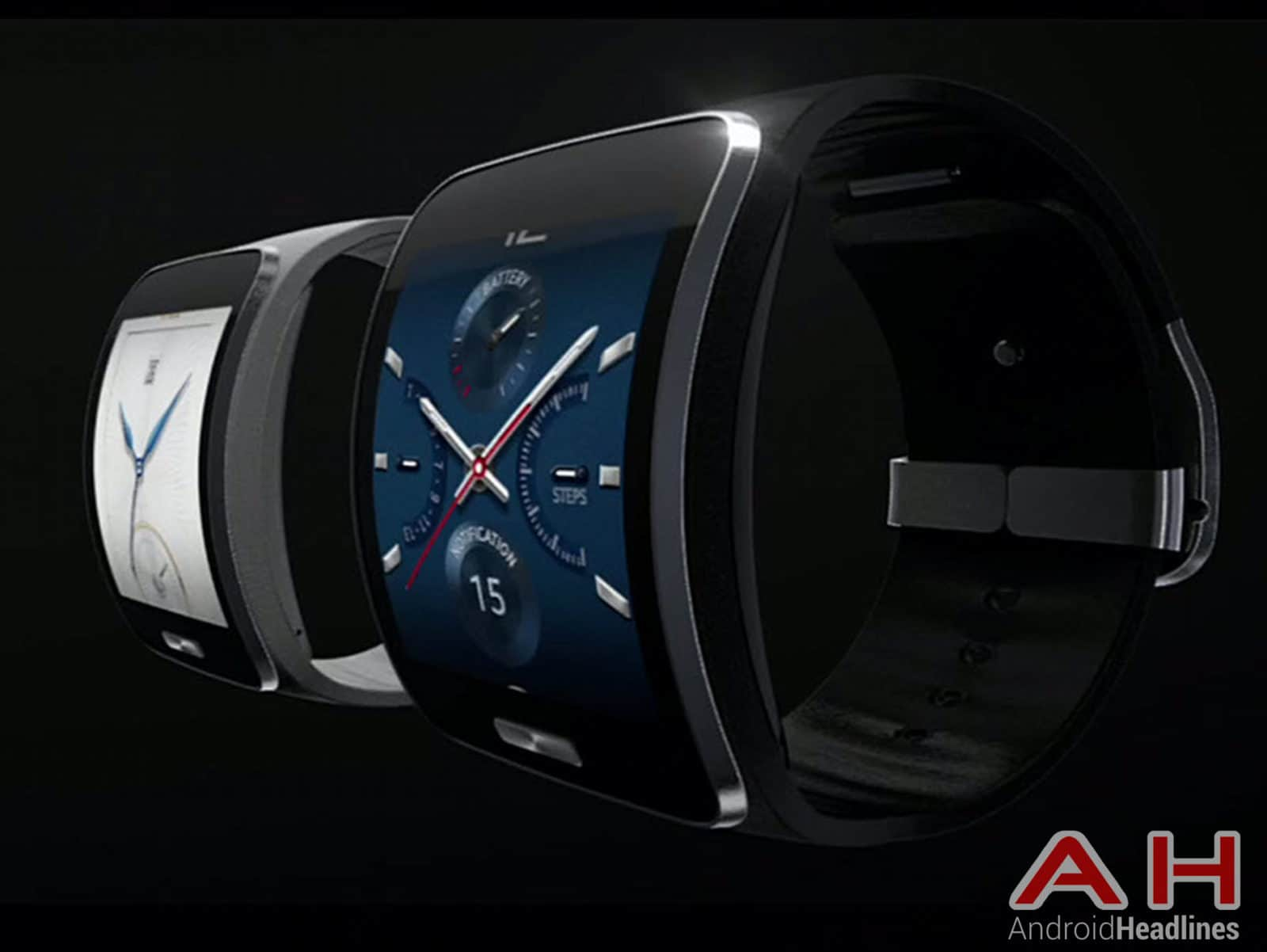 Samsung Gear S Side Shot AH