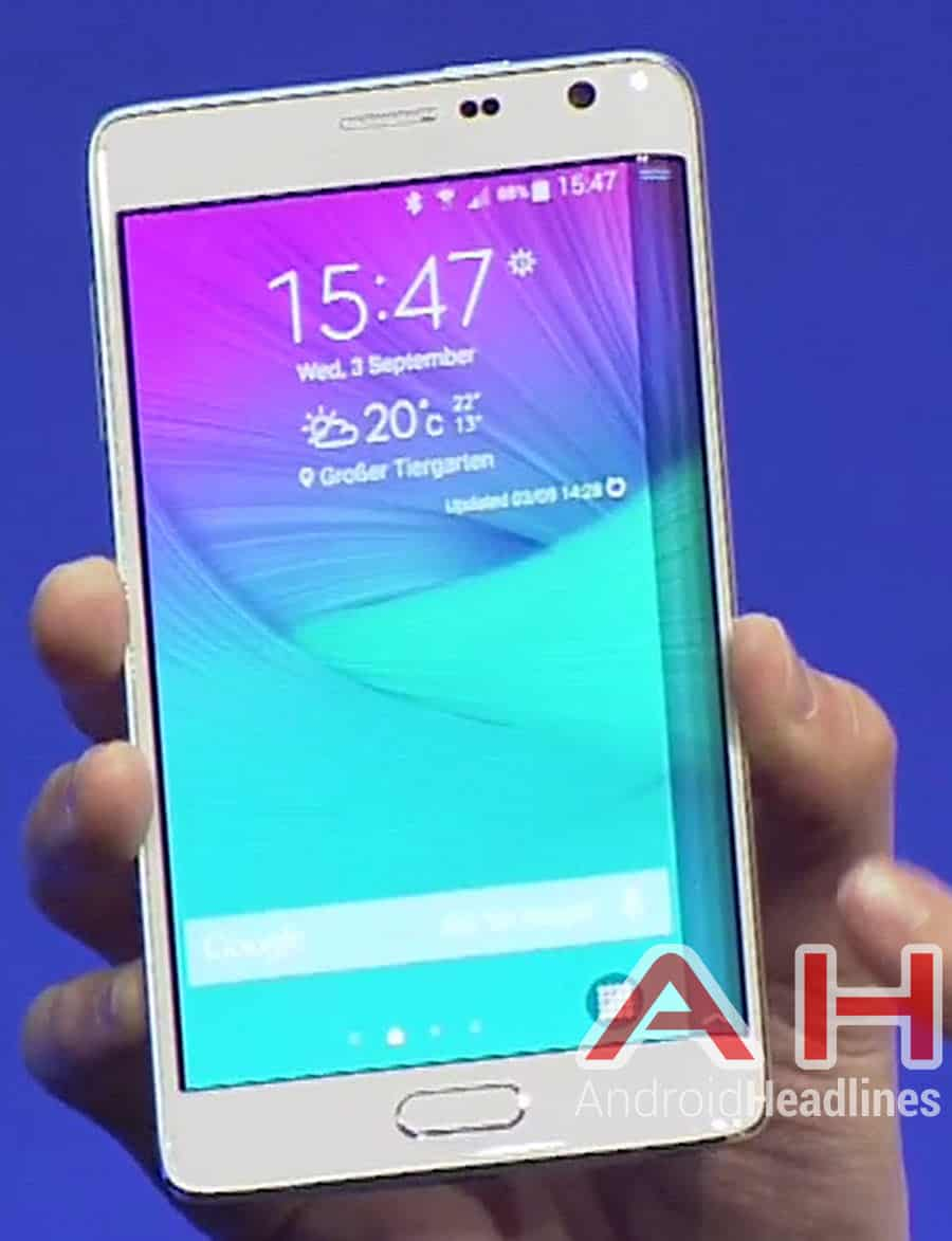 Samsung Note Edge Front 2 AH