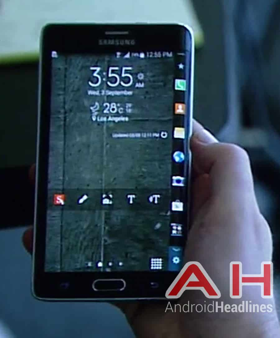 Samsung Note Edge Front AH