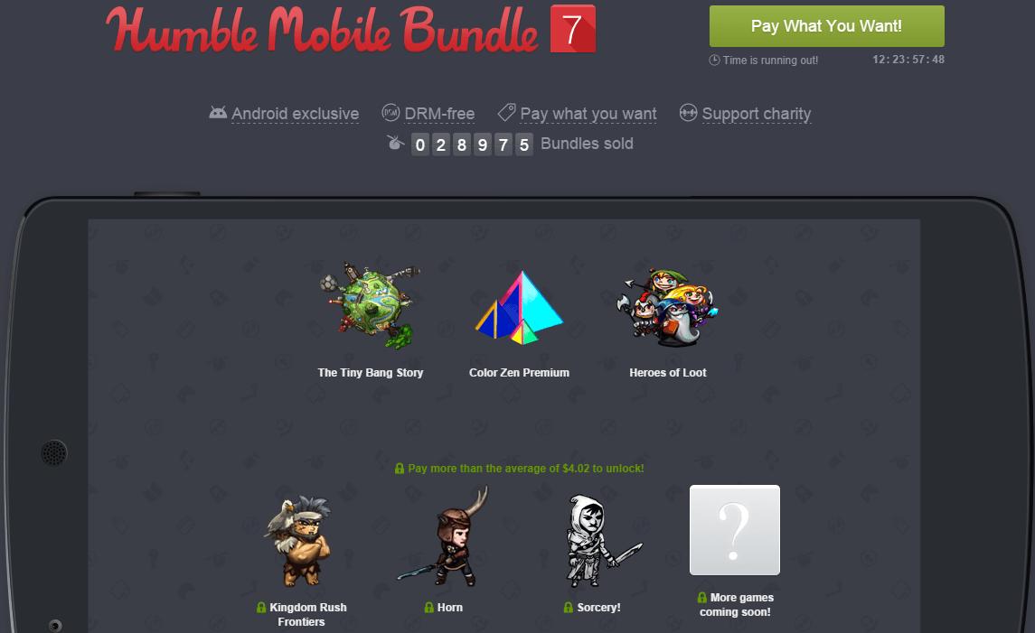 Humble Mobile Bundle 7