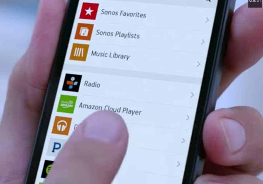 Sonos Music App Main