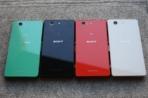 Sony Xperia Z3 Compact press photos colors 02