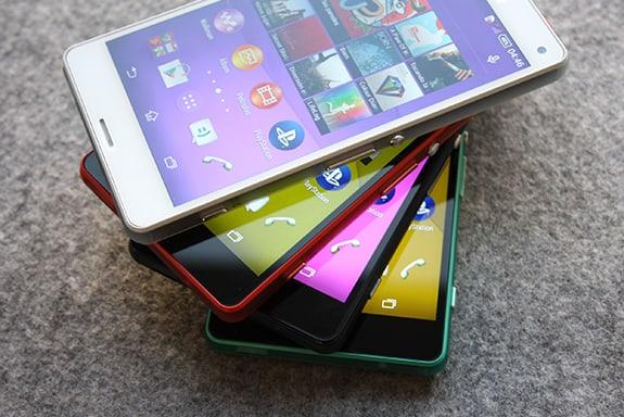 Sony Xperia Z3 Compact press photos colors 03