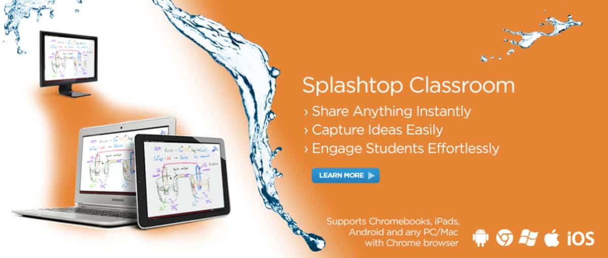 Splashtop Classroom App Main