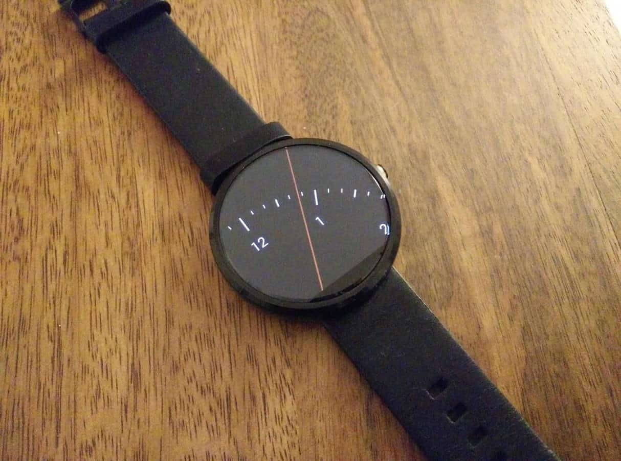 Spotlight Moto 360 watchface