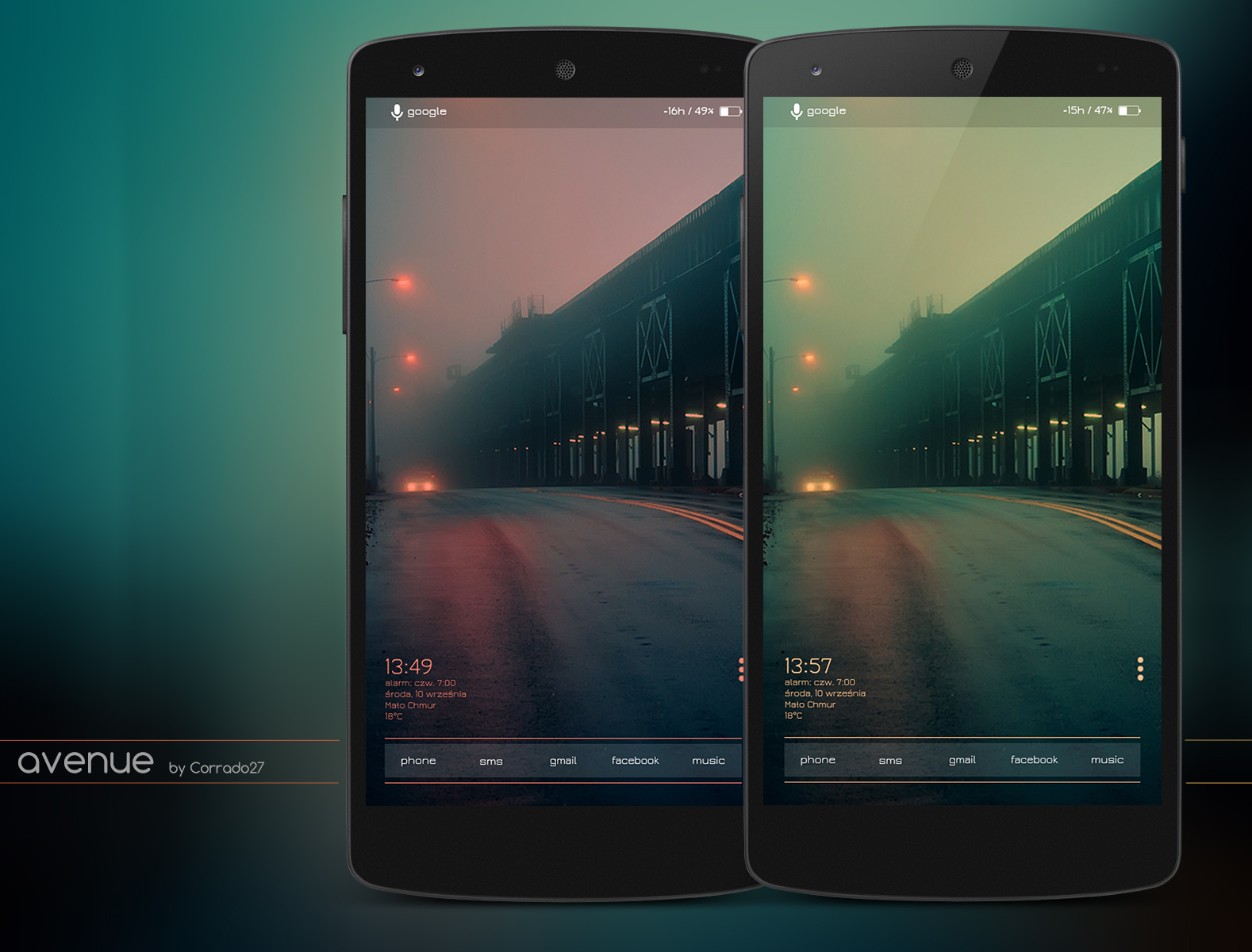 Top Android Homescreen September 12th Edition: Avenue ...