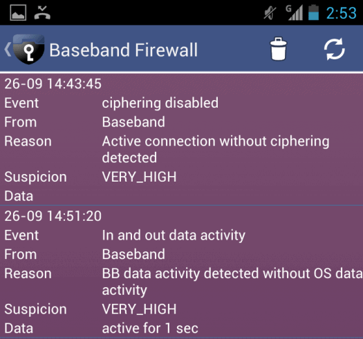 Face towers Android detection