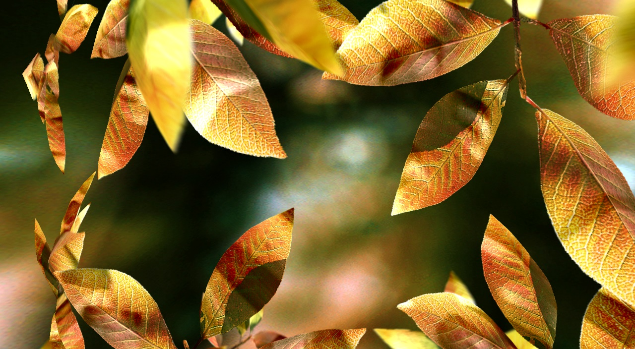 fresh-leaves-live-wallpaper