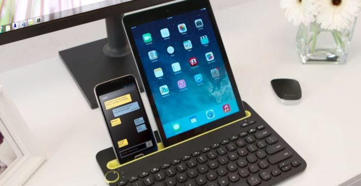 Logitech's K480 Bluetooth Keyboard is a No-Brainer, Connects to Three Different Devices