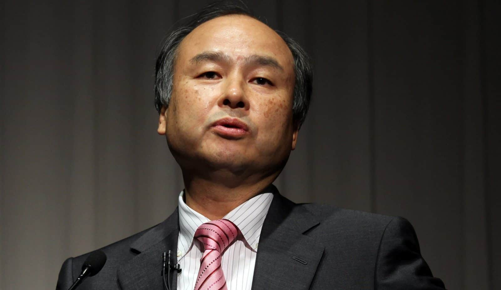 softbank ceo masayoshi son promotes former google exec. Black Bedroom Furniture Sets. Home Design Ideas