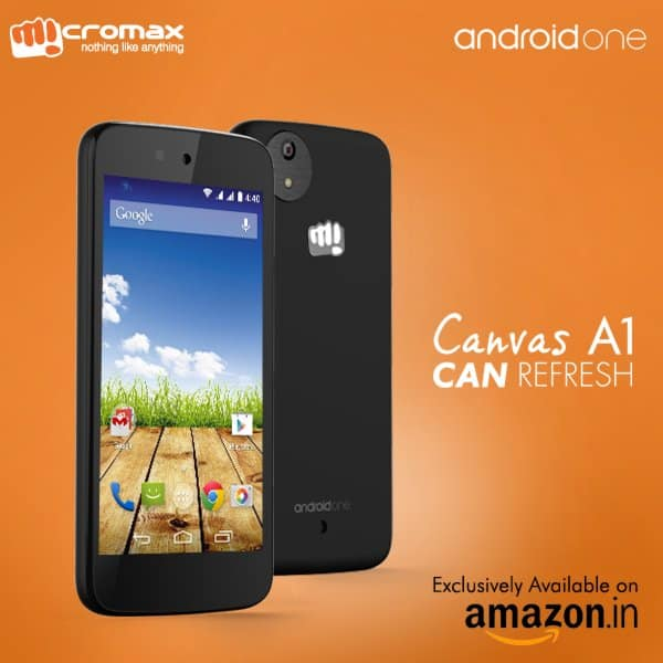 Micromax Announces Their First Android One Phone, The
