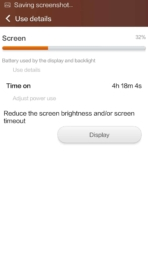 xiaomi mi4 miui5 battery screen
