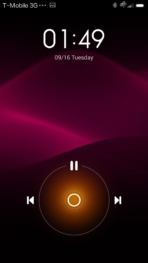 xiaomi mi4 miui5 lockscreen music
