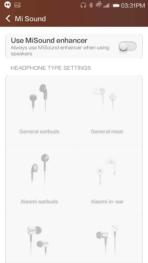 xiaomi mi4 miui5 sound headphones