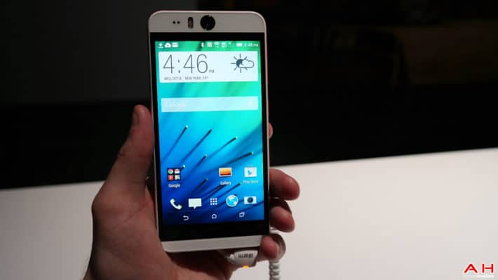 Here's The HTC Desire Eye Close Up: Image Gallery