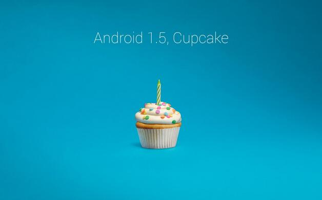 Android 1.5 Cupcake