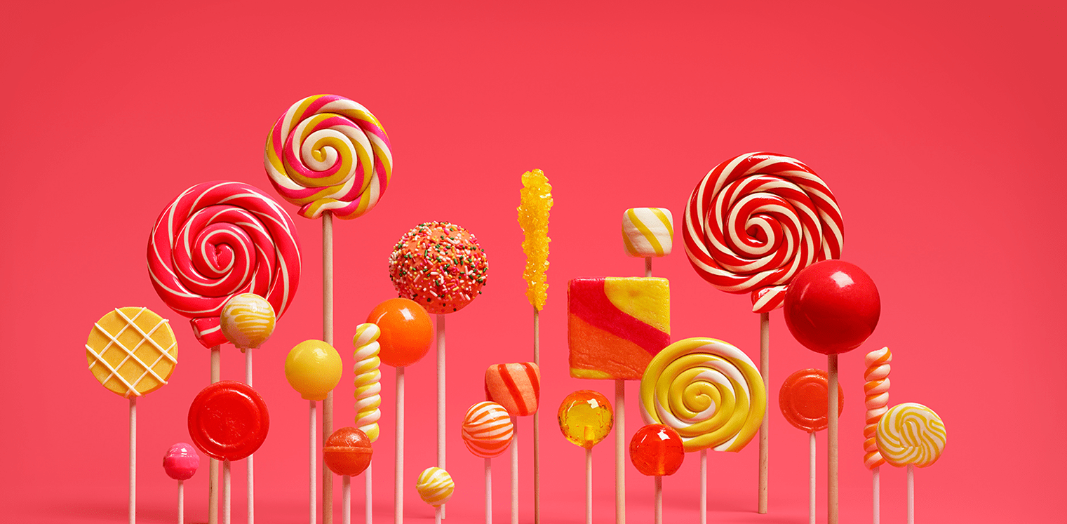 Android Lollipop Banner