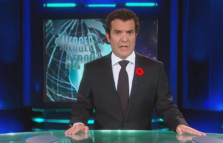 Canadian Comedian Rick Mercer's Video Pokes Fun at Rogers and Bell