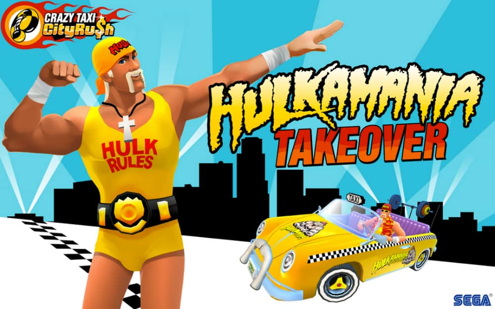 Crazy Taxi City Rush Hulk