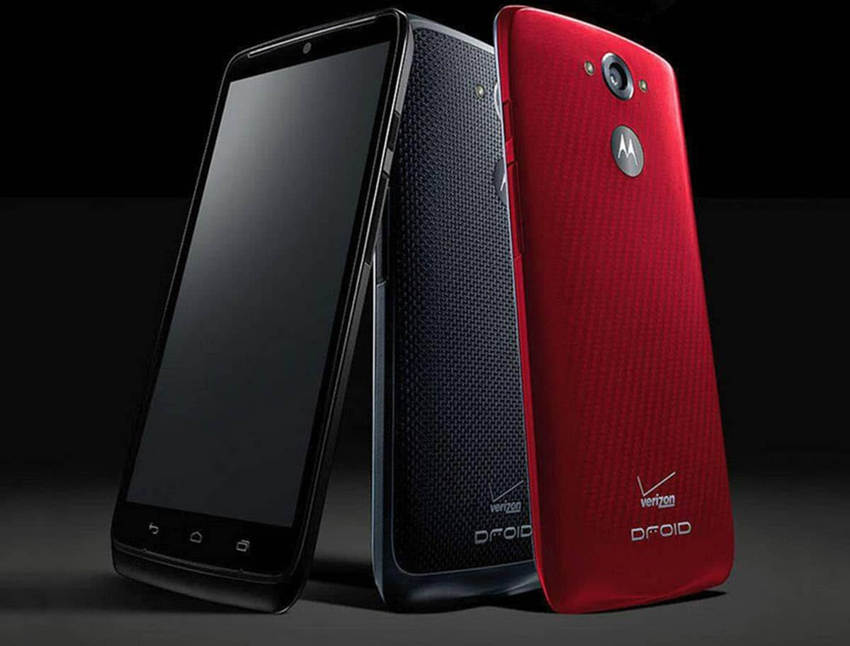 DROID Turbo Black & Red