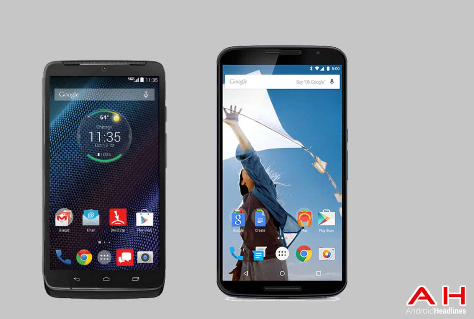 Droid Turbo vs Nexus 6 cam AH