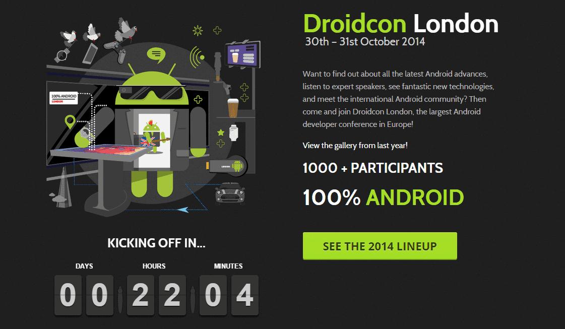 Droidcon London 2014