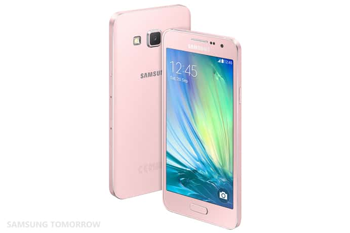 Galaxy A3 Back Pearl White 4