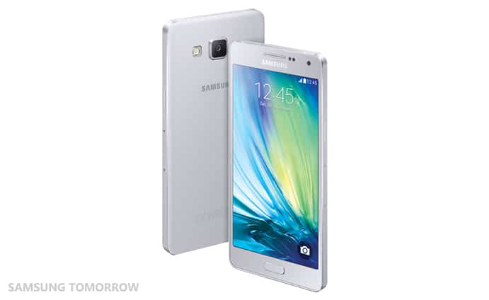 Galaxy A5 Set Platinum Silver
