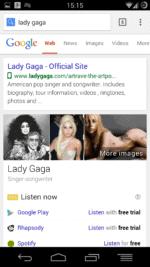 Google - Lady Gaga